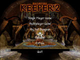 Dungeon Keeper 2 Windows Main Menu
