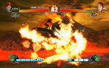 Street Fighter IV Windows C.Viper shows off her fiery kick.