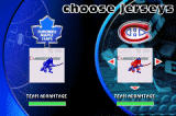 NHL Hitz 20-03 Game Boy Advance You can even choose between two jersey colors per team.