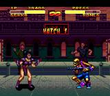Double Dragon V: The Shadow Falls Genesis This sicko with the gun is no match for me