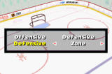 NHL Hitz 20-03 Game Boy Advance You can also switch up your team's offensive and defensive strategy if things aren't going your way.