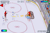 NHL Hitz 20-03 Game Boy Advance Brodeur makes a tremendous save!