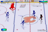 NHL Hitz 20-03 Game Boy Advance Jarome Iginla catches fire, which is apparently a good thing in HITZ...
