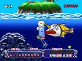Plue no Daibouken from Groove Adventure Rave PlayStation Interesting thing that... your horn looks just like my nose!