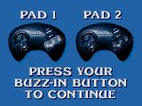 Jeopardy! Sports Edition Genesis Select your buzz in button.