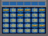 Jeopardy! Sports Edition Genesis The amounts fill in.