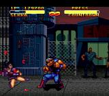 Double Dragon V: The Shadow Falls Genesis Countdown surprises Sekka on factory level