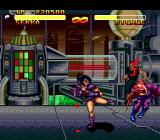 Double Dragon V: The Shadow Falls Genesis Making a bloody mess out of this guy in a laboratory