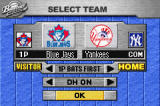 Baseball Advance Game Boy Advance Choose your matchup, and set up a few game options.