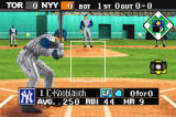 Baseball Advance Game Boy Advance Each player's stats show up when they step up to the plate.