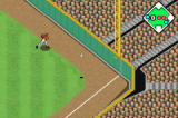 Baseball Advance Game Boy Advance The batter pulls a double down the line in right!