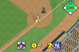 Baseball Advance Game Boy Advance The Yankees score two on the Jays.