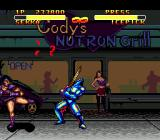 Double Dragon V: The Shadow Falls Genesis Outside Notron Grill stands a whore and watches the battle