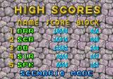 Dr. Robotnik's Mean Bean Machine Genesis HIgh scores