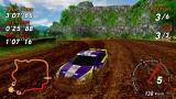 SEGA Rally Revo PSP Rally: Dirty Drifting (external rear view)