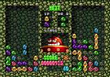 "Dr. Robotnik's Mean Bean Machine Genesis The right screen if your computer opponent, who will throw onto your screen gray ""refugee"" beans from time to time. Such beans can't be grouped, unlike the colored ones, and make the game more difficult than a usual Tetris"