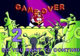 Dr. Robotnik's Mean Bean Machine Genesis Game Over