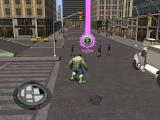 The Incredible Hulk Windows Thes coloured marks give you different missions
