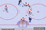 NHL 2002 Game Boy Advance Big rebound out front!