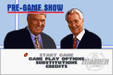 Madden NFL 2002 Game Boy Advance The Pre Game screen allows you to adjust your roster or tweak any of the game options.