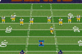 Madden NFL 2002 Game Boy Advance Lining up for the opening kick...