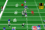 Madden NFL 2002 Game Boy Advance On punts, the game will keep track of hang time.