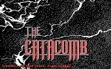 Catacomb II DOS Title screen (EGA)