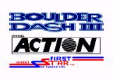 Boulder Dash III Amstrad CPC Loading screen