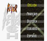 Head-On Soccer SNES Choose your language (European version)