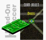 Head-On Soccer SNES Select your team