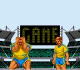 Head-On Soccer SNES Game...