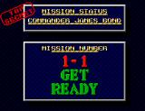 James Bond 007: The Duel SEGA Master System Level 1-1. Get ready!