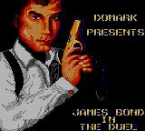James Bond 007: The Duel Game Gear Loading screen