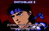 Switchblade II Lynx ROM load screen