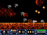 Turrican II: The Final Fight DOS Sharp as a razor blade