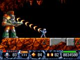 Turrican II: The Final Fight DOS First Level Boss