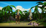 Tales of Monkey Island: Chapter 1 - Launch of the Screaming Narwhal Windows An encounter in the jungle.
