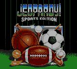 Jeopardy! Sports Edition Game Gear Title screen