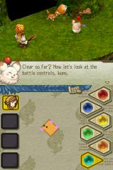 Final Fantasy: Crystal Chronicles - Echoes of Time Nintendo DS Let's learn how to fight