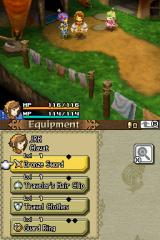 Final Fantasy: Crystal Chronicles - Echoes of Time Nintendo DS Equipment