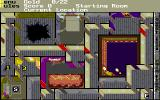 Solitaire's Journey DOS One of the Quest Maps