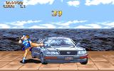 Street Fighter II Amiga A bonus stage where you have to destroy a car.