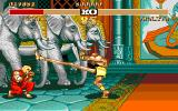 Street Fighter II Amiga Take a look at Dhalsim's legs!