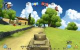 Battlefield Heroes Browser Controlling a tank.