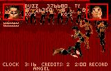 Pit-Fighter Lynx Kicking you when you're down is a favorite tactic of the computer.  Luckily, you can do it too.