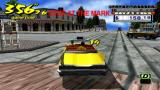 Crazy Taxi: Fare Wars PSP Hitting the brakes to make sure we stop there.