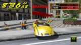 Crazy Taxi: Fare Wars PSP Braking... pedestrians fleeing (Crazy Taxi 2)