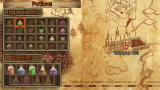 Harry Potter and the Half-Blood Prince PSP Potions and Ingredients screen