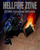 Hellfire Zone DOS The title screen