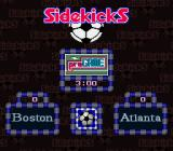 Tony Meola's Sidekicks Soccer SNES The matchup